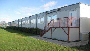Lampton - refurbisherd modular building